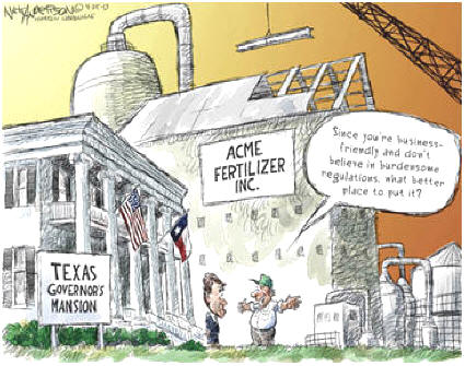Texas Governor Cartoon