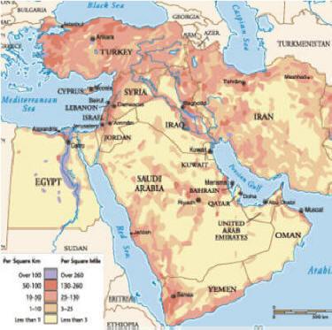 GEOG 1303 NOTES - REGIONS: AFRICA